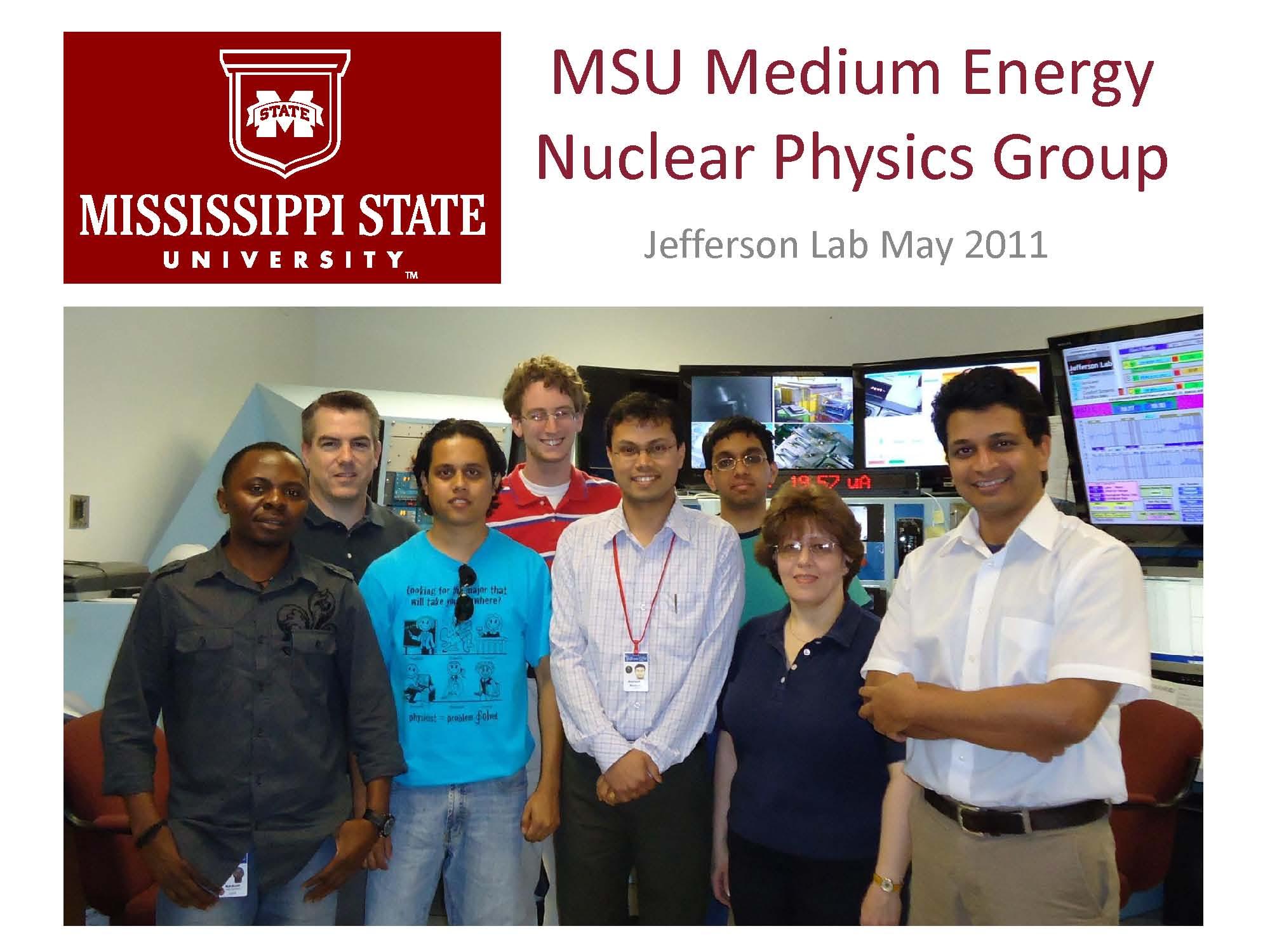[MSU Physics Logo]